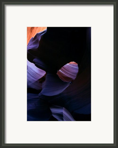 Sandstone Portal Framed Print By Mike  Dawson