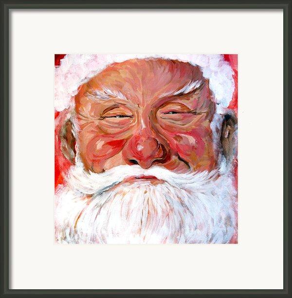 Santa Claus Framed Print By Tom Roderick