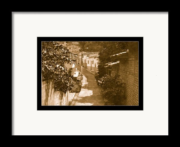 Santa Fe No I  Framed Print By Axko Color De Paraiso