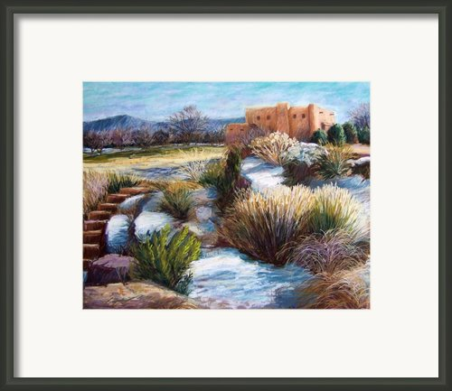 Santa Fe Spring Framed Print By Candy Mayer