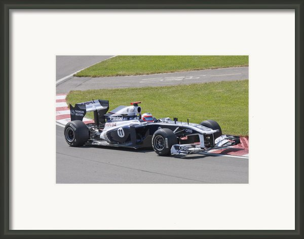 Sauber Framed Print By Art Ferrier