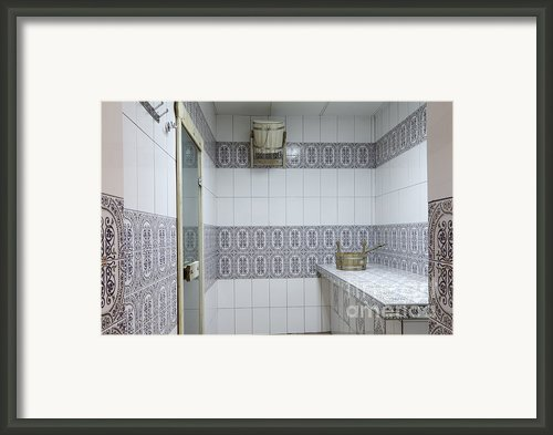 Sauna Entrance Framed Print By Magomed Magomedagaev