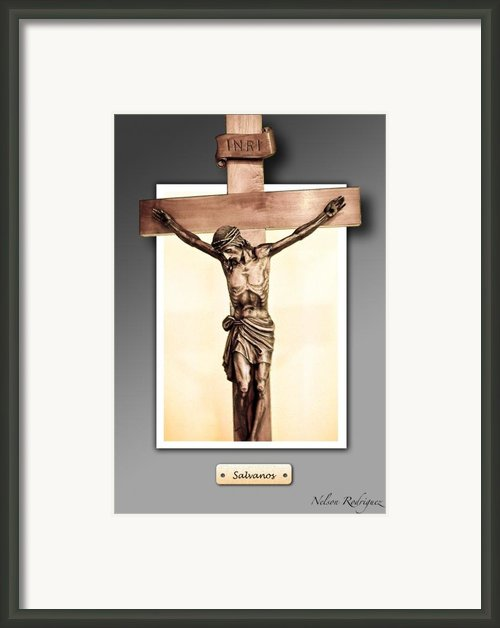 Save Us Framed Print By Nelson Rodriguez