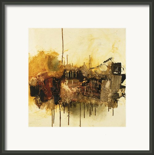 Say When Framed Print By Michel  Keck