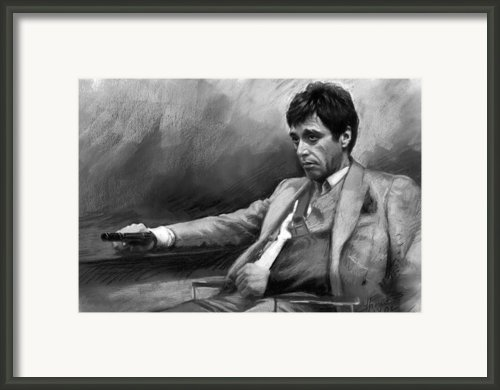 Scarface 2 Framed Print By Ylli Haruni