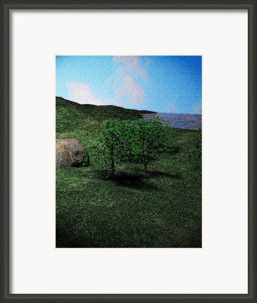 Scenery Framed Print By James Barnes