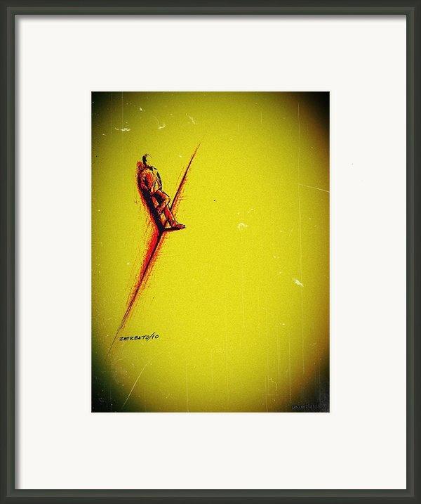 Schizoid Personality Framed Print By Paulo Zerbato