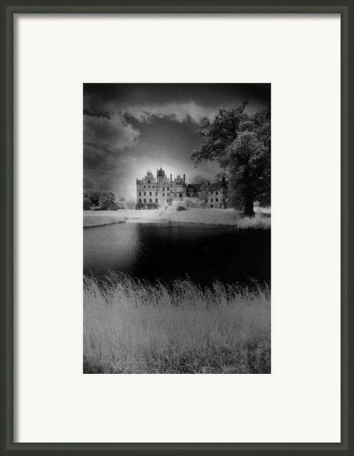 Schloss Basedow Framed Print By Simon Marsden