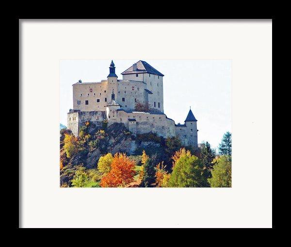 Schloss Tarasp Switzerland Framed Print By Joseph Hendrix