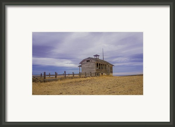School House Framed Print By Jean Noren