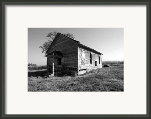 School House Framed Print By Rick Rauzi