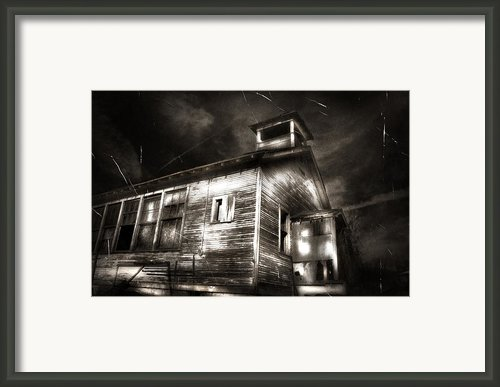 School House Rot Framed Print By Karri Klawiter