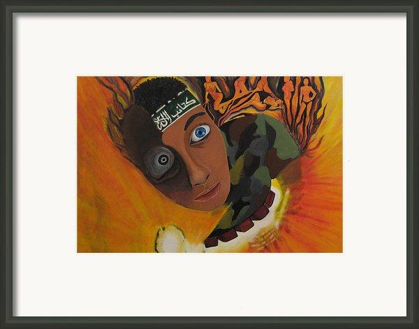 Schoolboy Fantasy Framed Print By Darren Stein