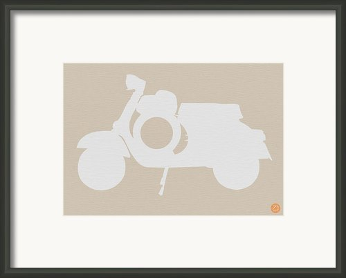 Scooter Brown Poster Framed Print By Irina  March