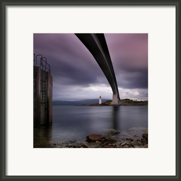 Scotland Skye Bridge Framed Print By Nina Papiorek