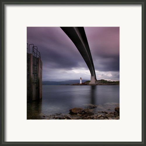 Scotland Skye Bridge Framed Print By Nina Papiorek