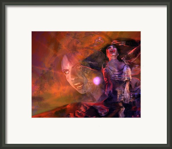 Scream Framed Print By Monroe Snook