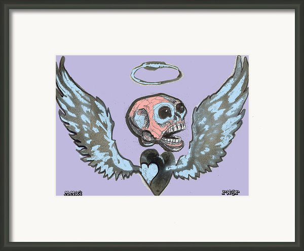 Screaming Hearts Framed Print By Robert Wolverton Jr