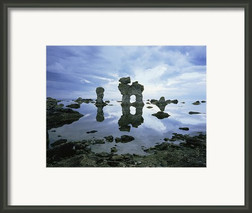 Sea Arch Framed Print By Bjorn Svensson