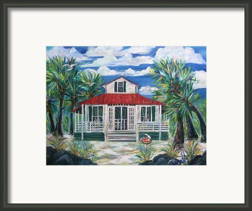 Sea Crest Framed Print By Doralynn Lowe