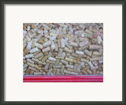 Sea Of Cork Framed Print By Michael Howard