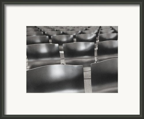 Sea Of Seats I Framed Print By Anna Villarreal Garbis