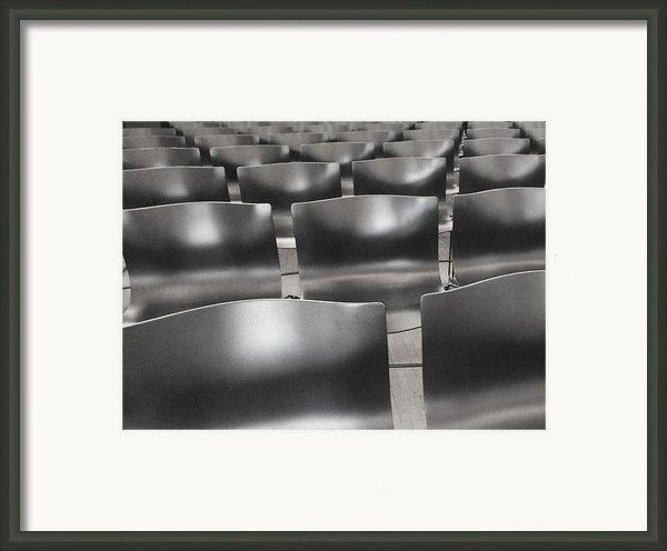 Sea Of Seats I Framed Print By Anna Villarreal Garbis