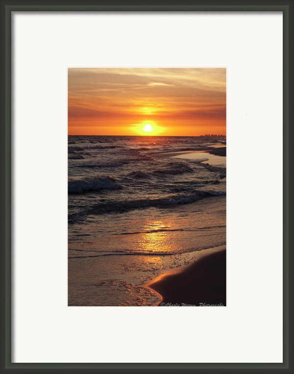 Seaside Serenade I Framed Print By Charles Warren