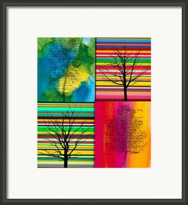 Seasons Framed Print By Ramneek Narang
