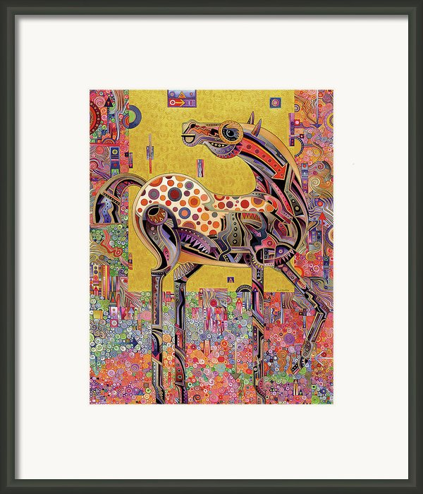 Secessionist Horse Framed Print By Bob Coonts