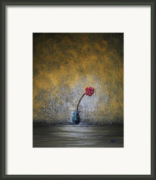 Seclude  Framed Print By Edwin Alverio