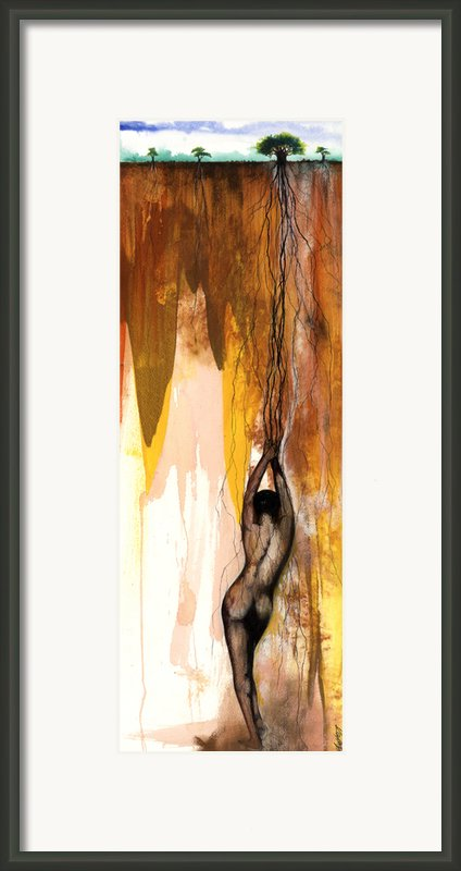 Second Lady Framed Print By Anthony Burks Sr