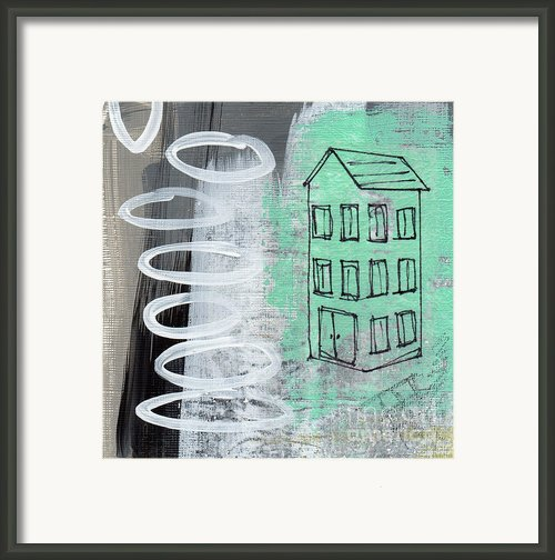 Secret Cottage Framed Print By Linda Woods