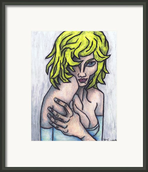Seductive Smile Framed Print By Kamil Swiatek