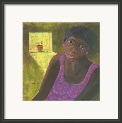 Seeds Of Hope Framed Print By Laurel Porter-gaylord