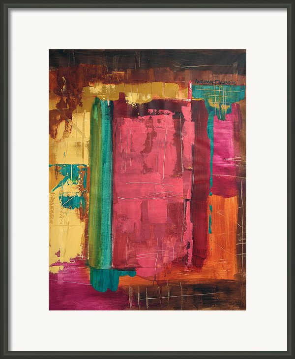Seek And You Shall Find Framed Print By Anthony Falbo