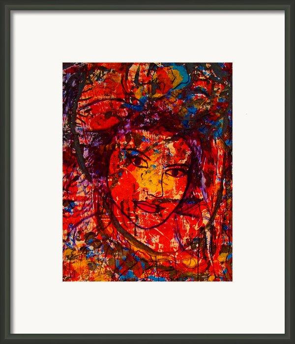 Self-portrait-5 Framed Print By Natalie Holland