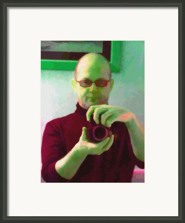 Self Portrait Framed Print By Roberto Edmanson-harrison