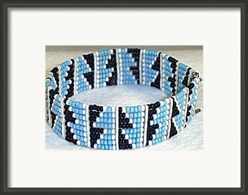 Semi Pyramid Bangle Framed Print By Anjeh Ambroise