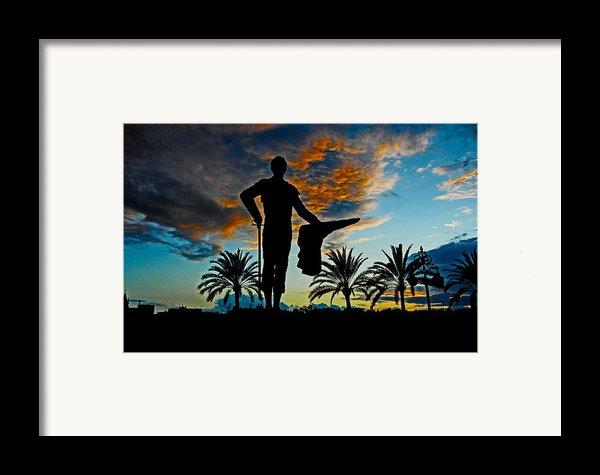 Senor Pepe Luis Vazquez Framed Print By Juergen Weiss