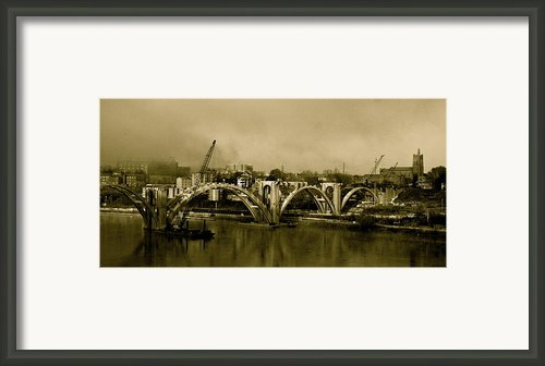 Sepia Awakenings Framed Print By Jeanne Thomas