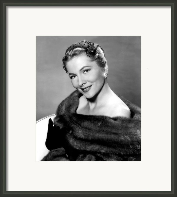 Serenade, Joan Fontaine, 1956 Framed Print By Everett