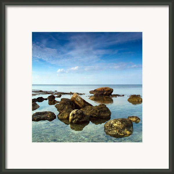 Serene Framed Print By Stylianos Kleanthous
