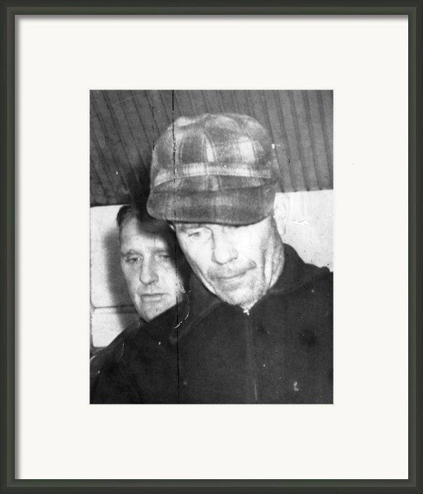 Serial Killer Ed Gein, Plainfeld Framed Print By Everett