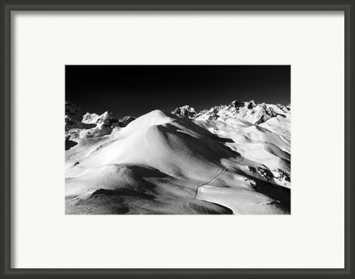 Serre Chevalier In The French Alps Framed Print By Pierre Leclerc