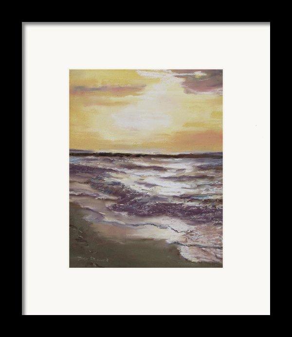 Sesuit Sunset Framed Print By Jack Skinner