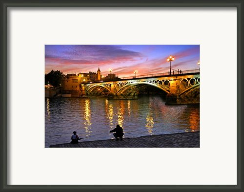 Sevilla Fishing Framed Print By Skip Hunt