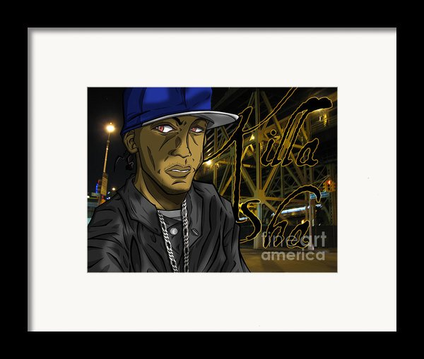 Sha Lumi The Great Framed Print By Tuan Hollaback