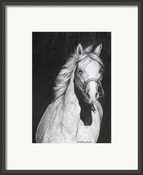 Shadow Framed Print By David Ackerson