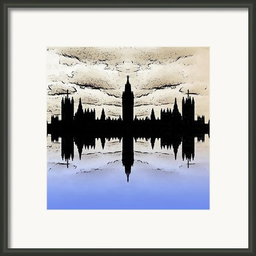Shadow Goverment Framed Print By Sharon Lisa Clarke